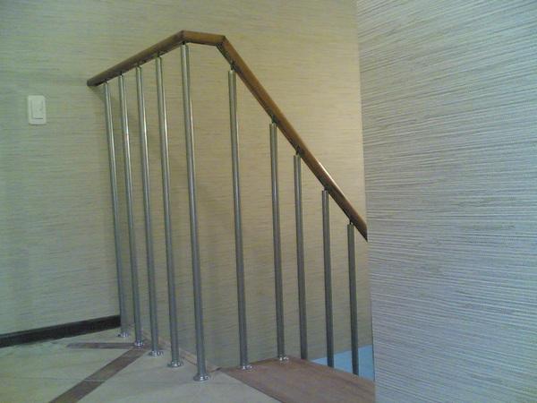 Лестничное ограждение модульных лестниц