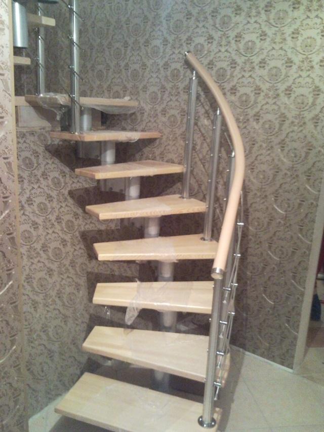 Наша лестница в Курске