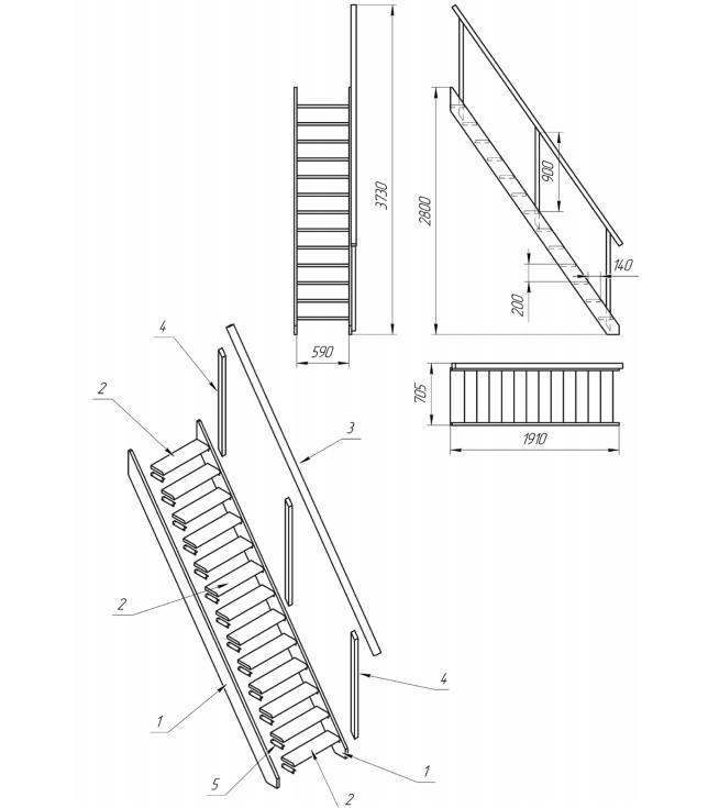 Схема сборкилес11