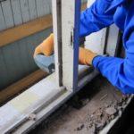 Как самому отремонтировать  деревянные окна.