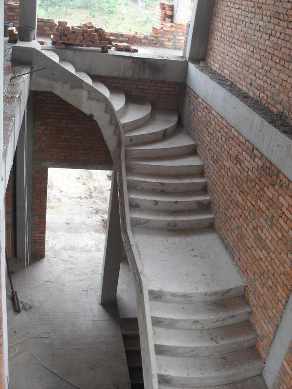Лестница из железобетона