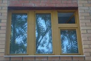 Окно со стеклопакетами