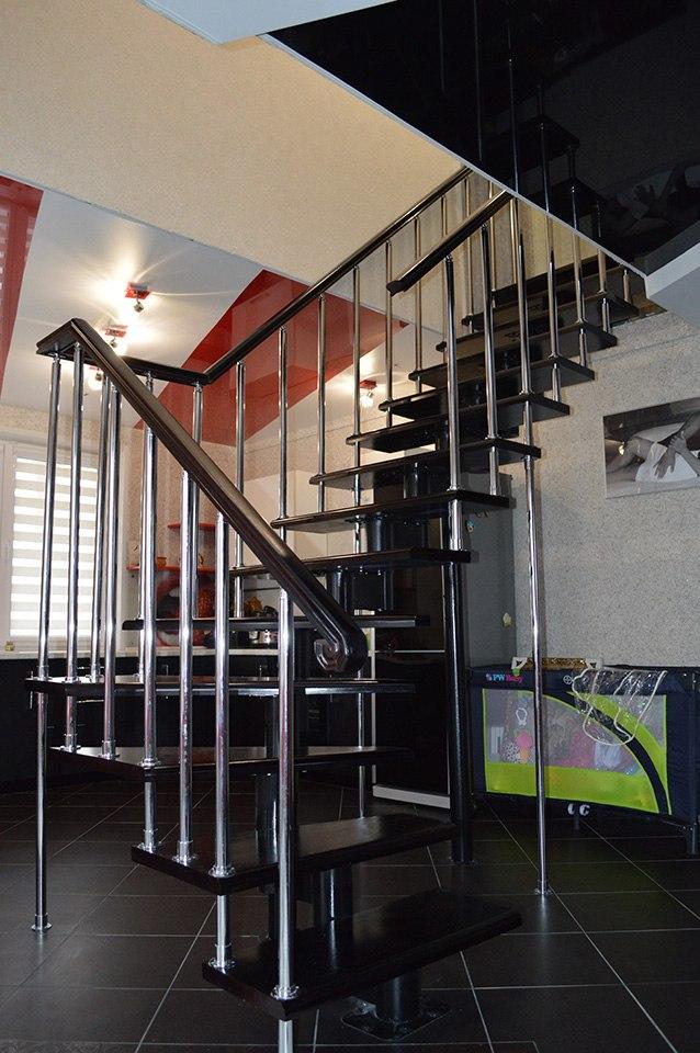 Модульная лестница Белоруссии в Курске, Лестницы в Курске, лестница на второй этаж частного дома недорогая для самостоятельной сборки красивая современная воздушная чердачная