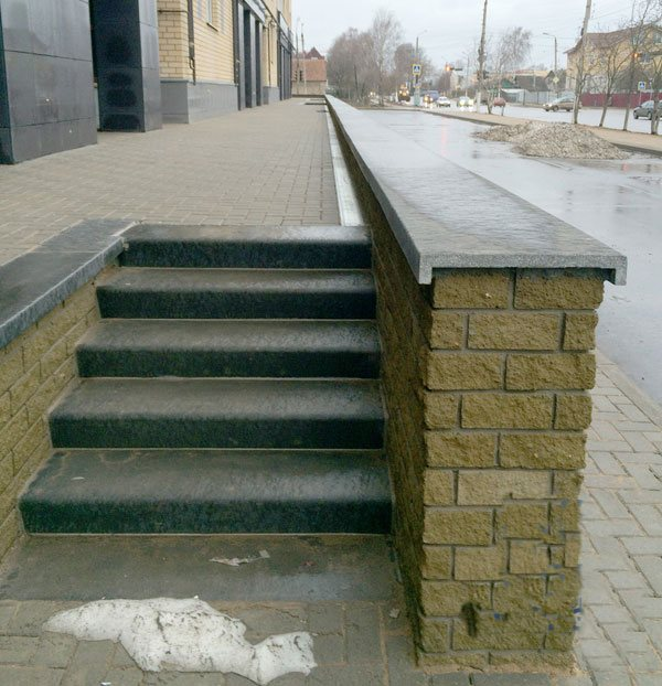 ступени для крыльца, ступеньки для улицы