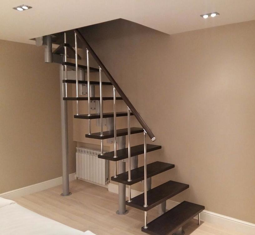 Лестница для небольшого пространства