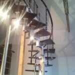 Винтовая лестница из модулей