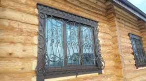 Деревянные окна в сруб